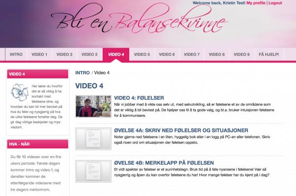 Onlinekurs Bli en Balansekvinne